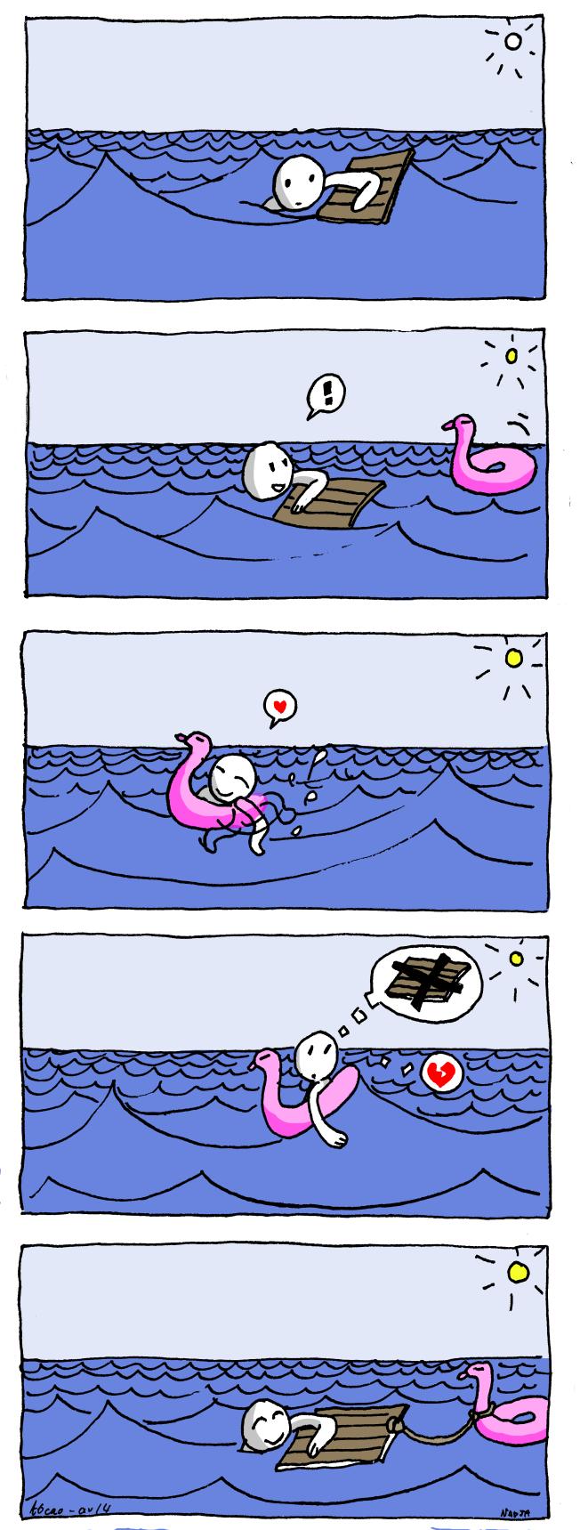 bouée canard